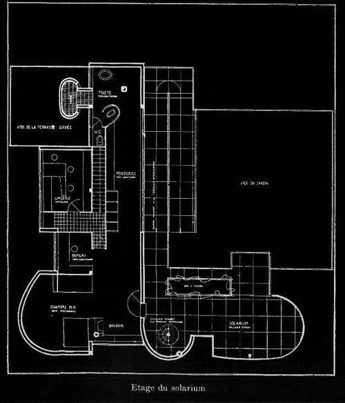 Villa Savoye - Le Corbusier Planos 03