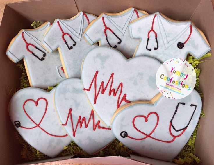 Nurse Appreciation Gift; Nurse Appreciation Day Gift; Gift for Nurses; Nurse Thank You Gift; Nurse Gift; Nurse Cookies- 1 Dozen (12 Cookies)