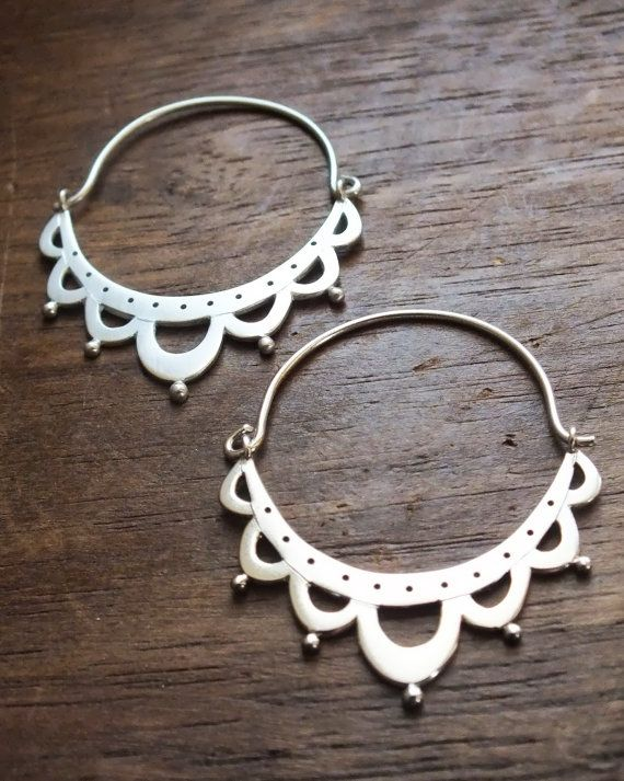 Hey, I found this really awesome Etsy listing at https://www.etsy.com/listing/154441852/lace-antiquity-hoop-earrings-hand