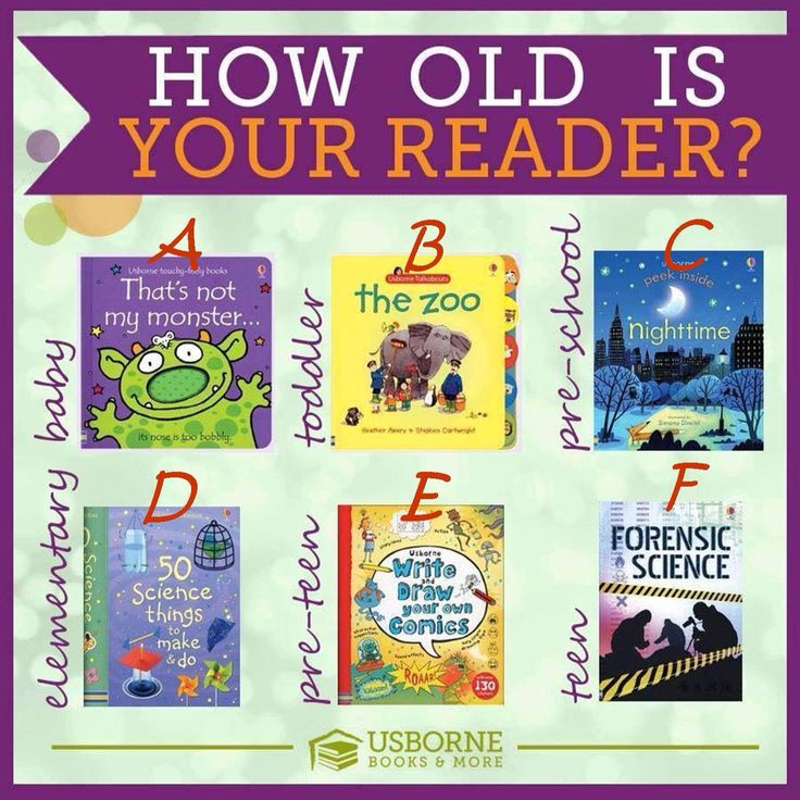 How old is your reader? Usborne Images Pinterest