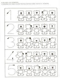 Profª Marcela - atividades: Números de 1 a 10 - 5                                                                                                                                                      Mais