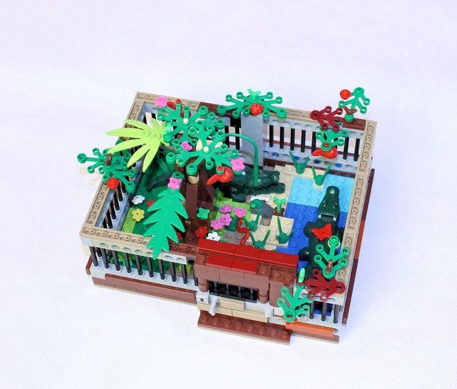 Lego City Zoo Crocodile Pen Lego Lego Lego City Lego