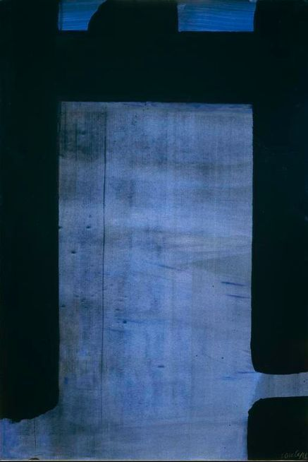 """""""Painting isn't just pretty or pleasant; it is something that helps you to stand alone and face yourself"""" - PIERRE SOULAGES -"""