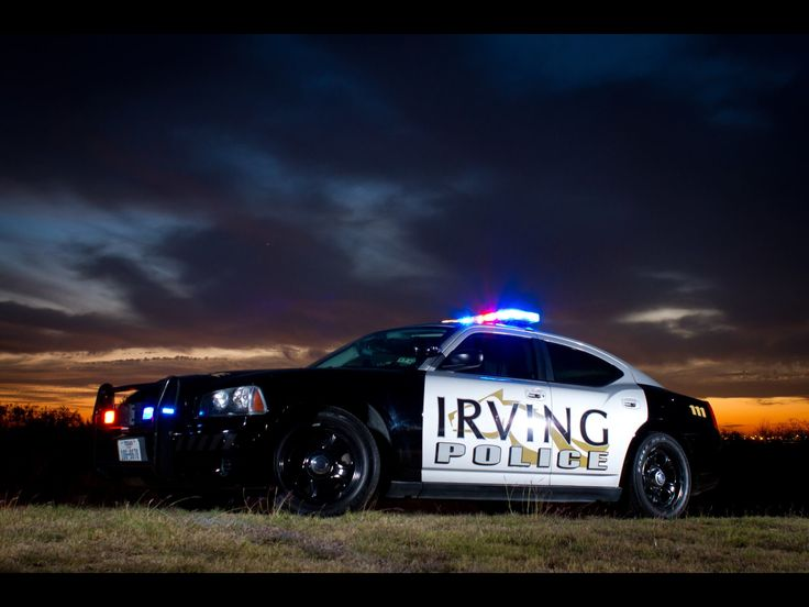 Irving Police - Dodge Charger Pursuit