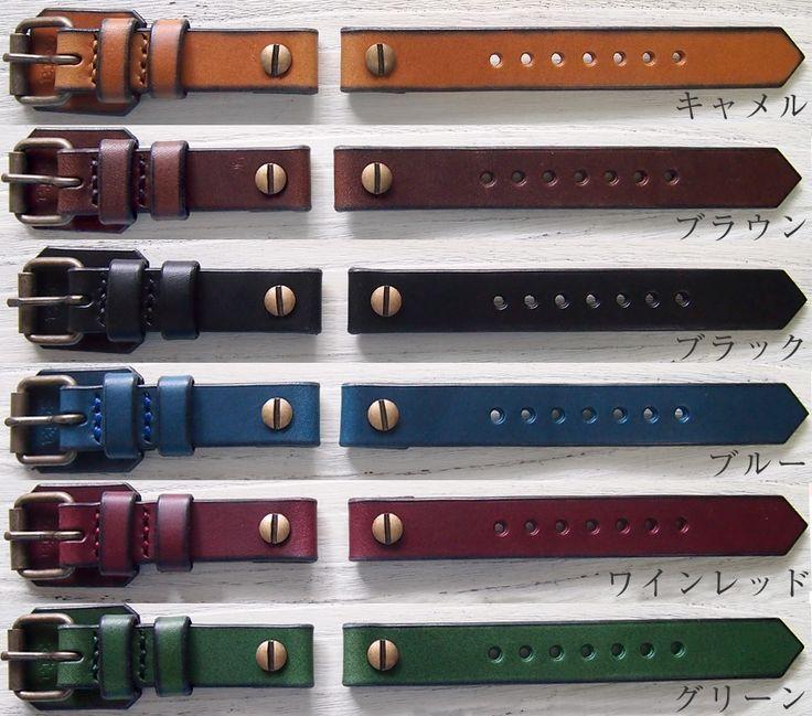 cota(コタ)手作り腕時計 18mm付け替えレザーベルト[BM]【クラフトカフェ】