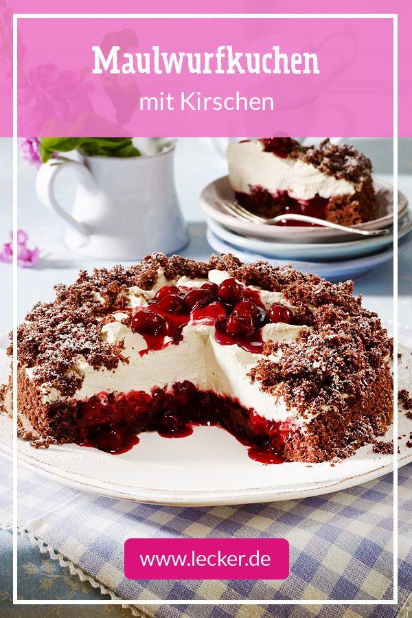 Als Geburtstagskuchen oder für den nächsten Kaffeeklatsch: Maulwurfkuchen mit …