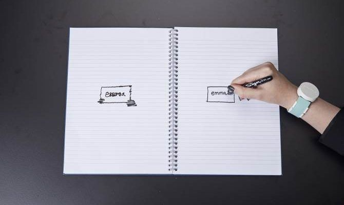 Este wearable permite volver a escribir a las personas con párkinson