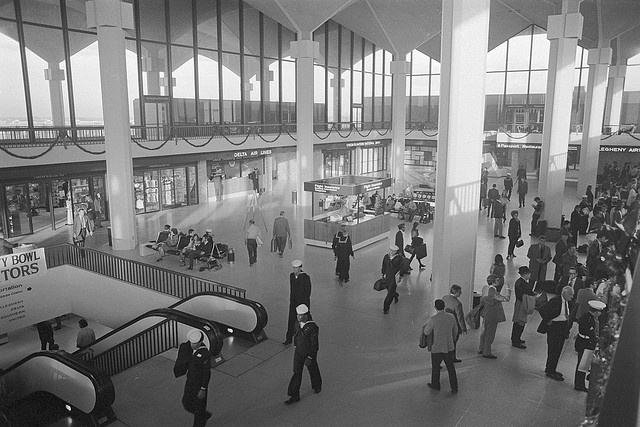 Memphis International Airport in 1973 by euthman, via Flickr