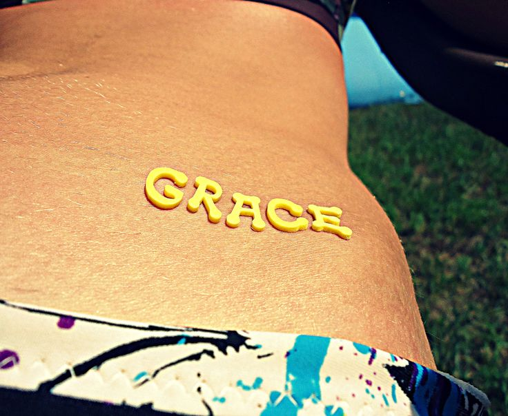 Put foam letters stickers on to make cool tan lines! :)