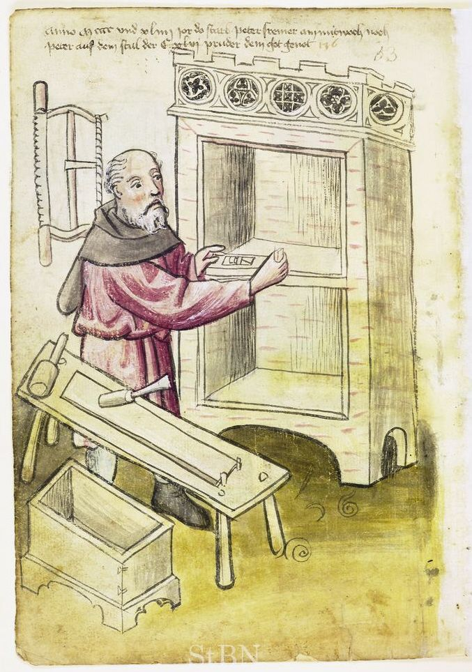 St. Thomas guild - medieval woodworking, furniture and other crafts: March 2011: