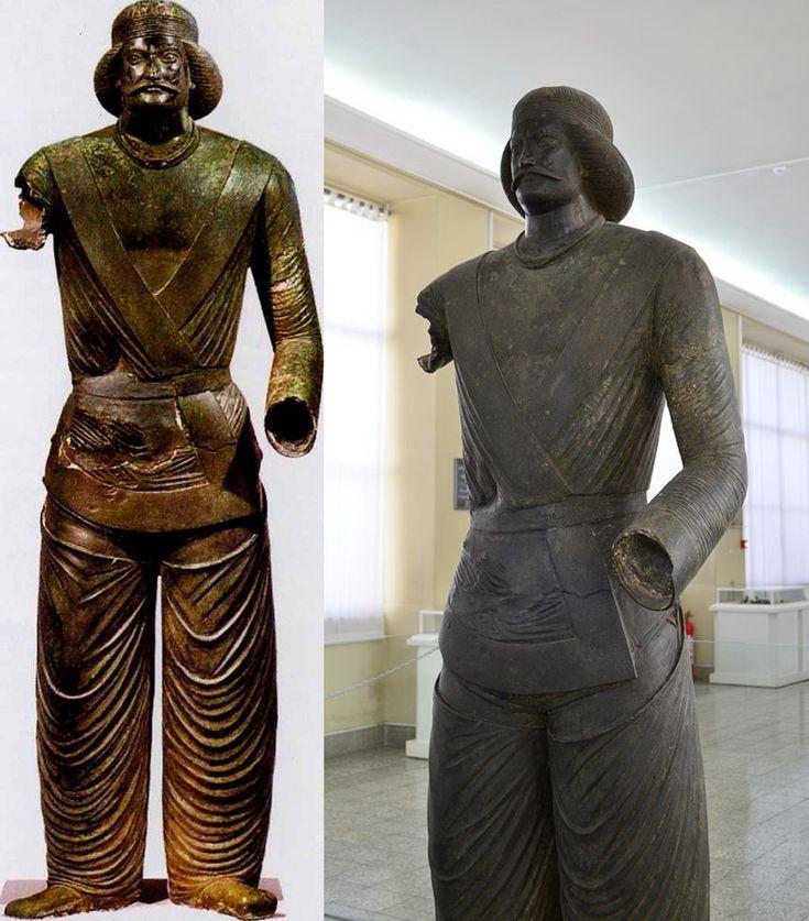maximus101   Бронзовая статуя парфянского аристократа из храма в Шами, I-II вв. Национальный музей Ирана.