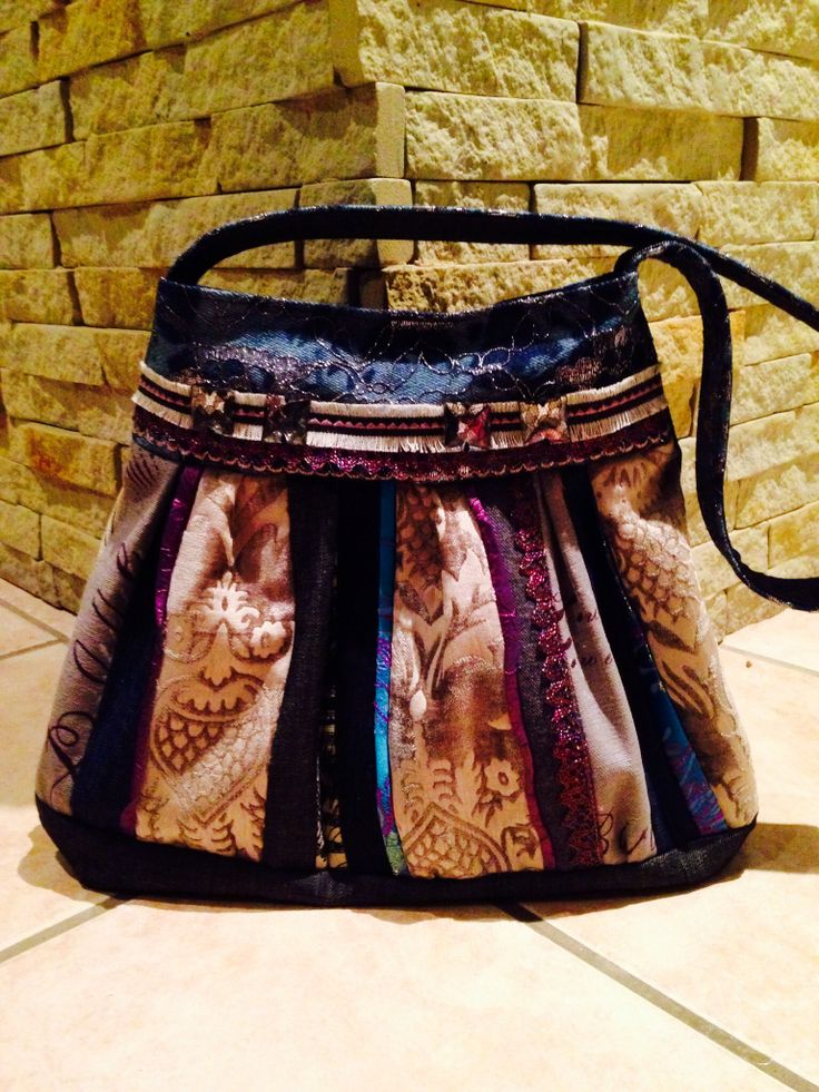 Handbag, made with love, for my sister Lenise. For her birthday