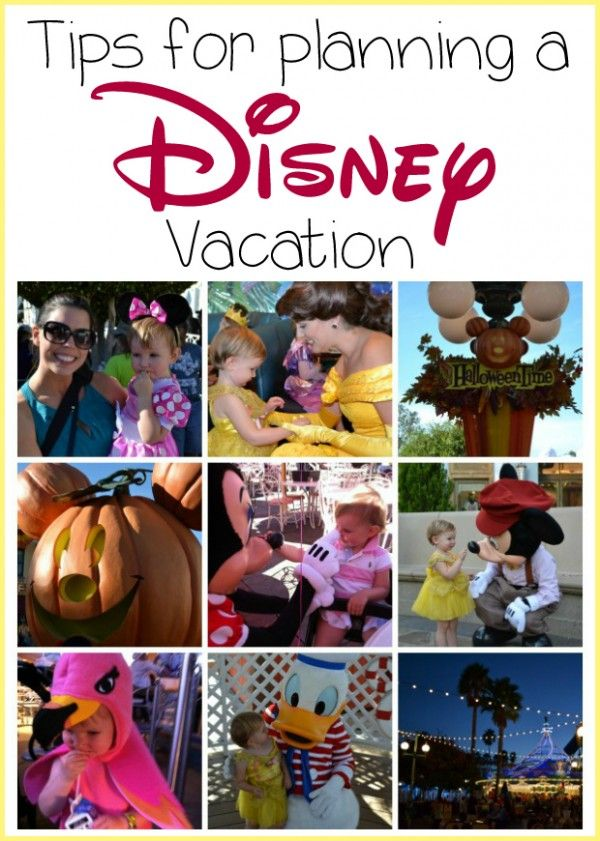 Tips for Planning a Disney Vacation