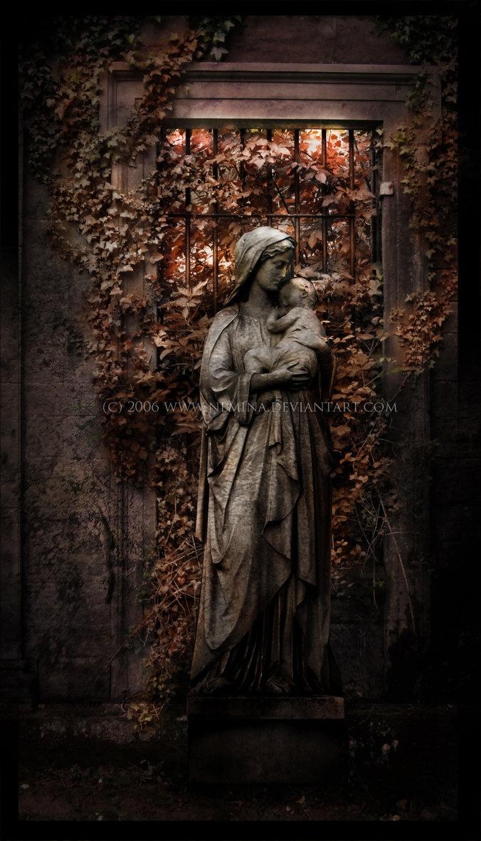 Virgin Mary by ~nemina