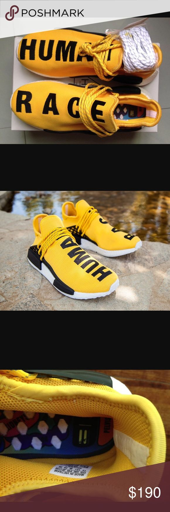 Human race shoes Human race shoe, Adidas, design by Pharrell Williams, very comfy shoes adidas Shoes Sneakers
