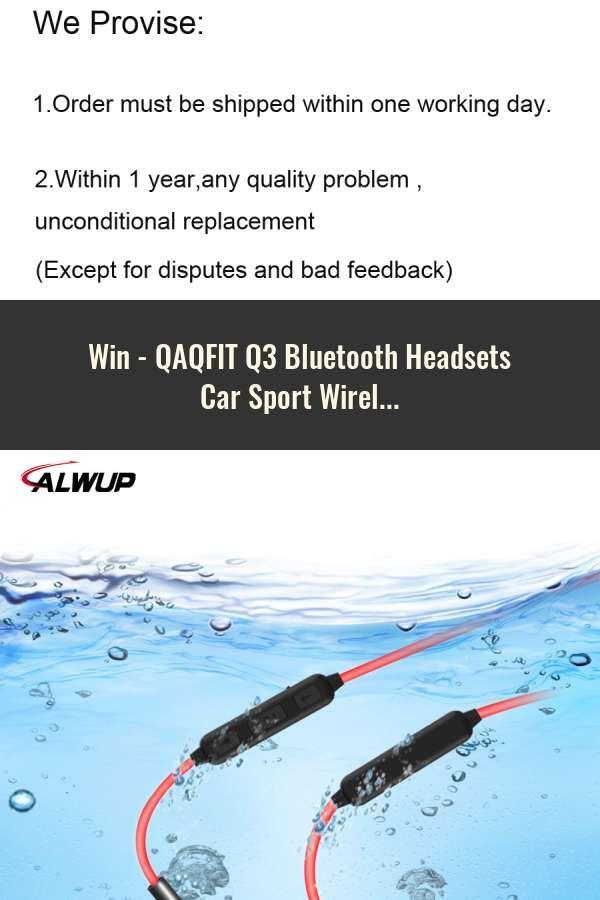 QAQFIT Q3 Bluetooth Headsets Car Sport Wireless Earphone HD