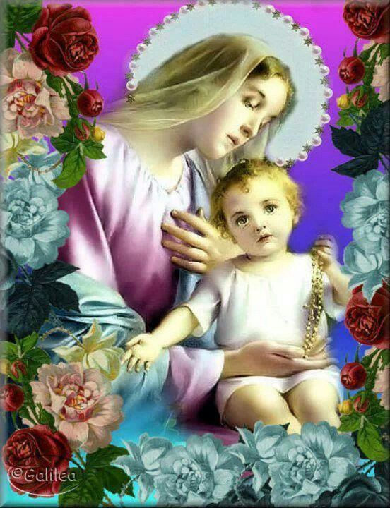 Blessed Mother Mary Amp Baby Jesus My Spirituality