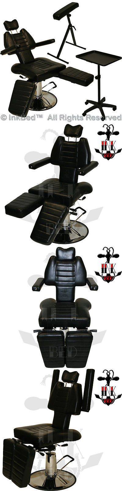 Tattoo Supplies: Inkchair New Sturdy Reclining Hydraulic Client Chair Tray Tattoo Arm Rest Studio -> BUY IT NOW ONLY: $415.88 on eBay!