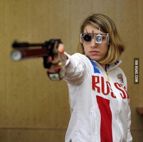 This Russian Olympic shooter is the best Quentin Tarantino character he never wrote #lol #funny #rofl #memes #lmao #hilarious #cute