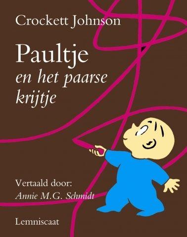Prentenboek Paultje en het paarse krijtje