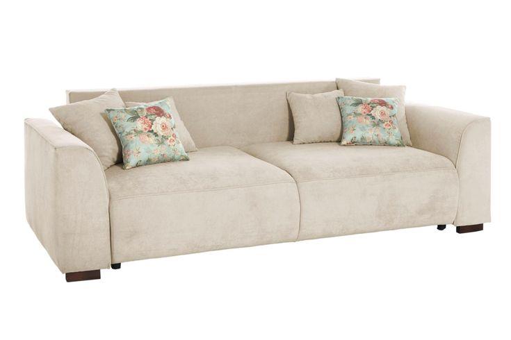 3-Sitzer-Sofa weiß, ca. 88/245/107cm, FSC®-zertifiziert, heine home Jetzt best…