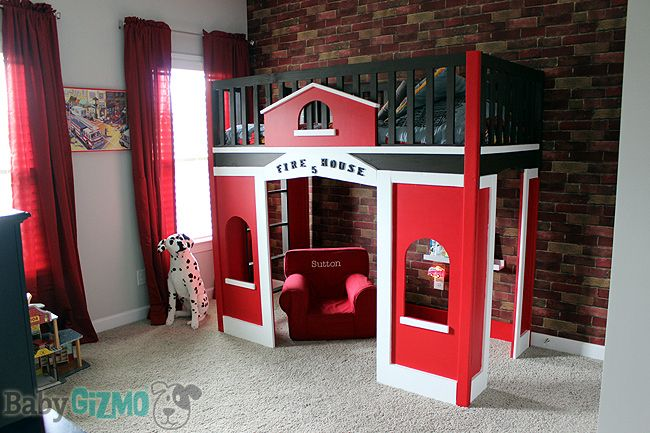 At Home with Baby Gizmo Episode Two – The Firehouse Room and a giveaway! http://babygizmo.com/2014/10/home-baby-gizmo-episode-two-firehouse-room/#comment-744799