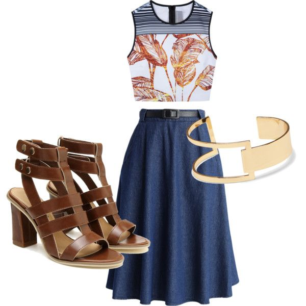 Tropical Society by navybluebubble on Polyvore featuring polyvore fashion style Clover Canyon Chicwish Sole Society
