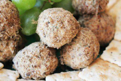 cream cheese and biltong truffles