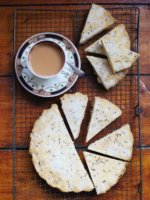 Scottish shortbread | Jamie Oliver A beautiful, humble shortbread recipe #wscrafting @whitestuff