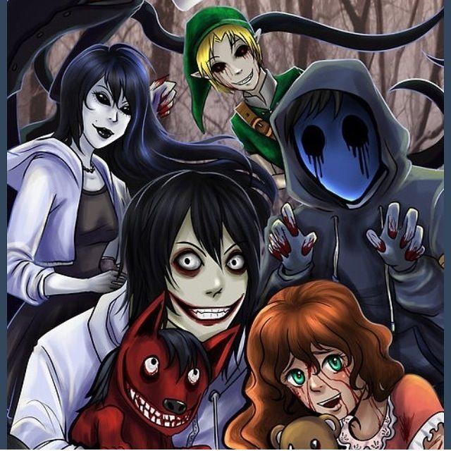 Creepypasta family | Creepypasta | Pinterest | Family ...