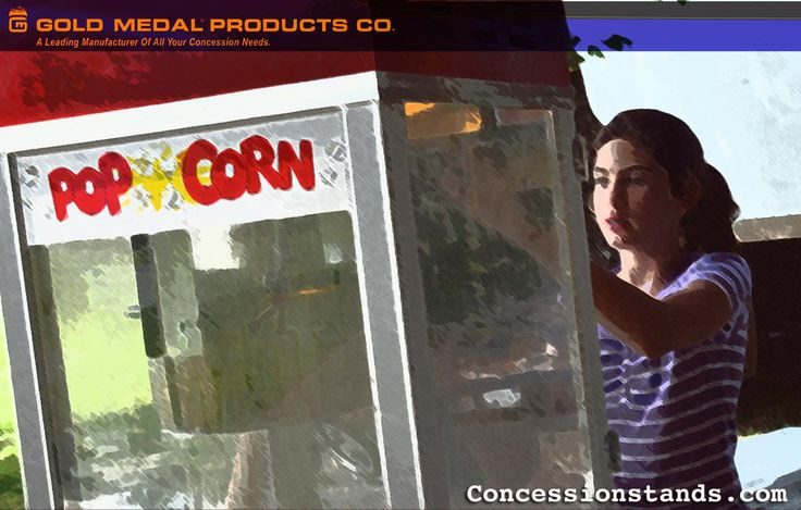 Gold Medal specializes in durable and easy-to-use popcorn machines. A Gold Medal popcorn machine will also add a stylish, classic look to any area. Gold Medal has been manufacturing high quality concession equipment since 1931.