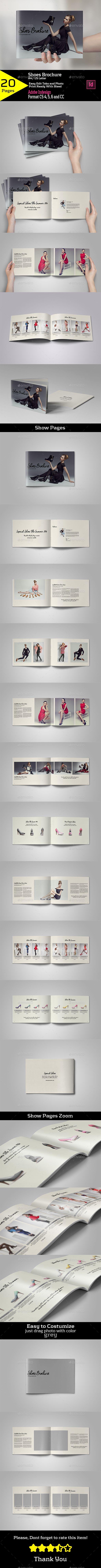 Shoes Brochure A4/US Letter Template PSD #design Download: http://graphicriver.net/item/shoes-brochure-a4us-letter/13495650?ref=ksioks
