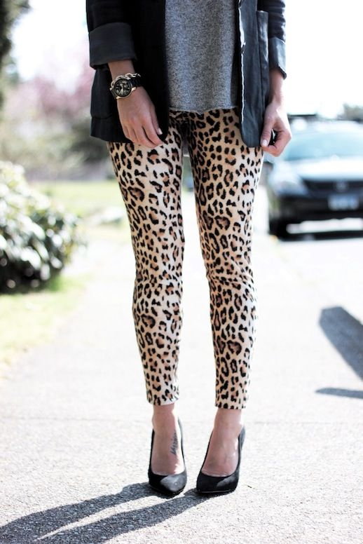 Leopard Leggings - www.jillianharris.com