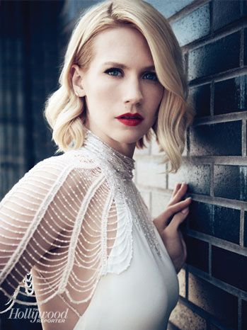 THR's Emmy Roundtable Drama Actresses Portraits January Jones