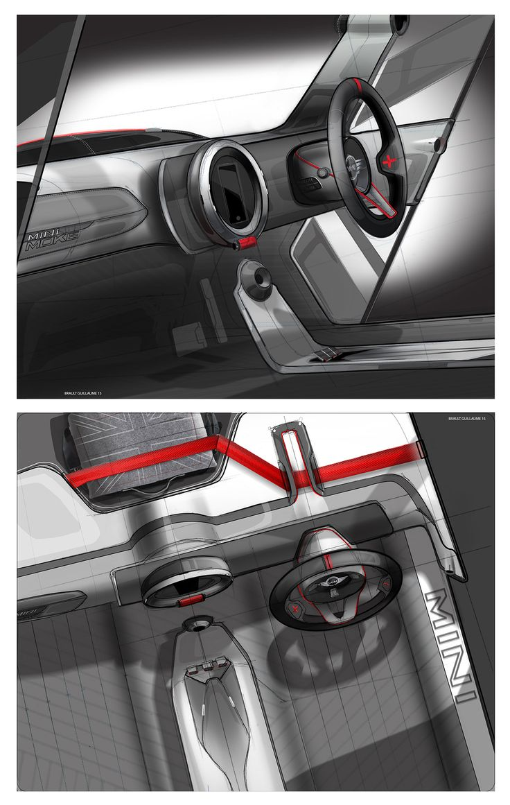 293 Best Images About Automotive Sketch Interior On Pinterest Audi Quattro Behance And