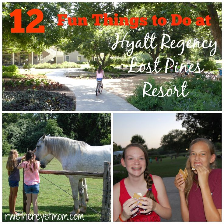 12 Fun Things to do for Kids at Hyatt Lost Pines Resort & Spa ~ Austin, TX - R We There Yet Mom?   Family Travel for Texas and beyond...