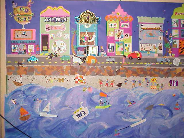 1000 images about class art projects on pinterest for Class mural ideas