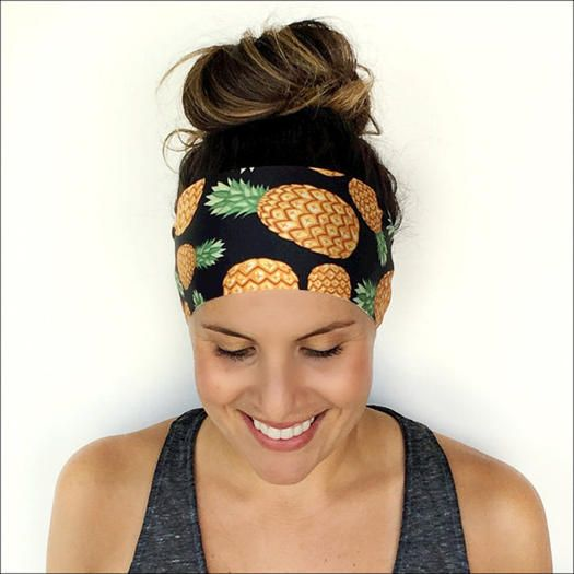 Make your runs enjoyable and don't worry about your hair with these stylish and trendy hairbands. These hairbands are great for working out or as a stylish addition to your hair any day. Look and feel great with these running headbands.