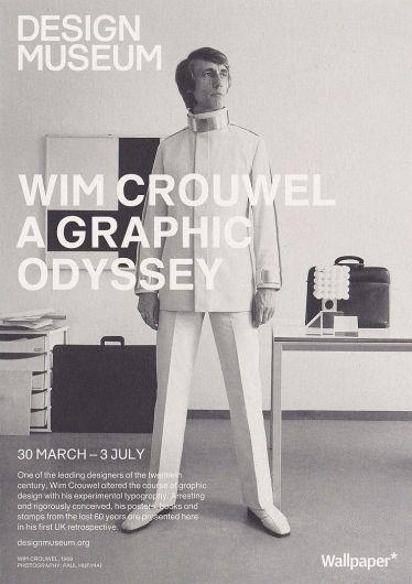 Wim Crouwel | Dutch graphic designer and typographer.