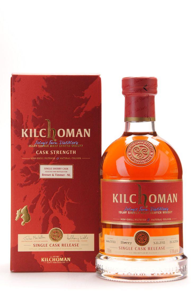 Kilchoman 2011 - 2016 #666/2011 Single Sherry Cask for B&T Islay Single Malt Scotch Whisky bestel je online bij Passievoorwhisky.nl