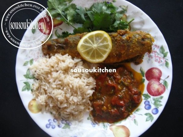Hi my friends, Today I am going to share with you a delicious, very easy, and healthy fish recipe from Morocco. Hope you like it. I invite you to watch the video at the end of the article The video