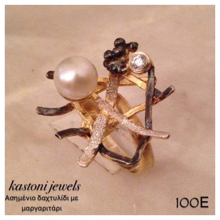 #kastonijewels #ring #handmade #jewelry #pearl #Greece