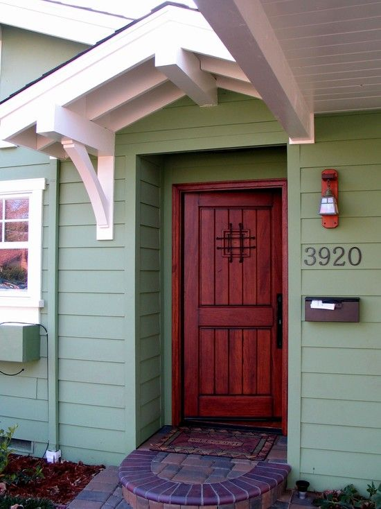 Entry Doors Design Pictures Remodel Decor and Ideas - page 5 & 56 best Back door overhangs images on Pinterest | Architecture ... Pezcame.Com
