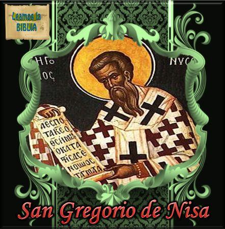 Leamos la BIBLIA: San Gregorio de Nisa
