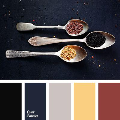 black, color matching, color matching in interior, color palette, dark gray, gray, Orange Color Palettes, saffron, saffron color, spices, spices shades, wet asphalt.