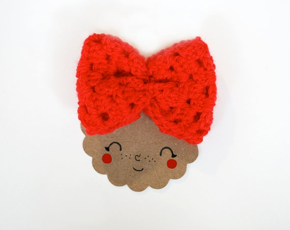 cute idea to use to sell your hair clips