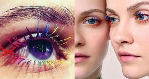 Moda: #Ciglia #arcobaleno: il nuovo trend estivo (link: http://ift.tt/1TRdNSM )