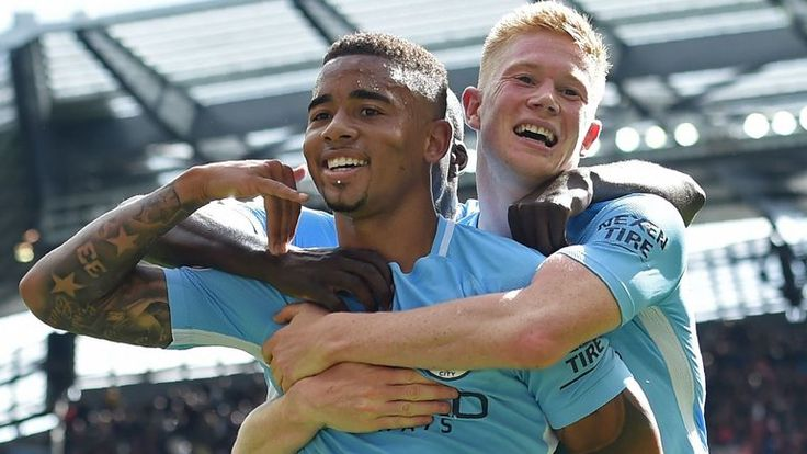 Gabriel Jesus says Man City's Kevin De Bruyne is 'one of the best players in the world' | Football News | Sky Sports