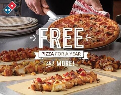 FREE $4+ Domino's Pizza Gift Card