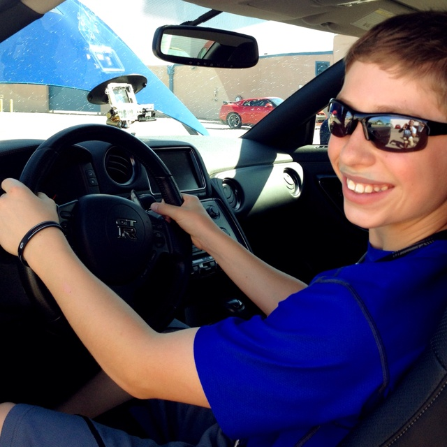 Will Nenni behind the wheel of the powerful 2012 Nissan GTR